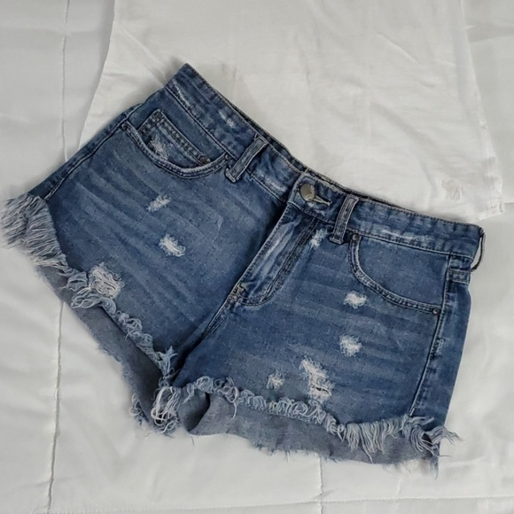 6397f27922 Free People Shorts | Distressed Cutoff Jean | Poshmark